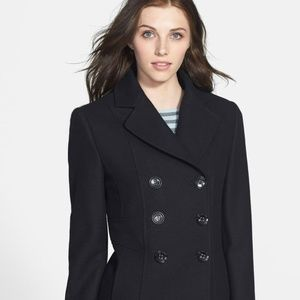 Kenneth Cole  double-breasted peacoat Size 4